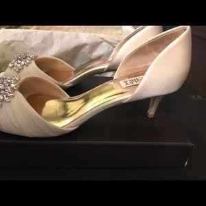 ff3c68c5b3 Badgley Mischka Shoes - Mischka Badgley Sabine Embellished evening shoe